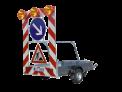 przyczepa-ostrzegawcza-fa-2-gl-z-duza-powierzchnia-ladunkowa-z-zestawem-dwoch-lamp-ms340-w-wersji-blyskowej-i-15-halogenowymi-lampami-rs2000-12v-20w-z-przewodowym-pilotem-i-obracana-strzala-znak-c9-c1