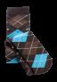 skarpetki-nylons-brazowo-niebieskie-rozmiar-35-42